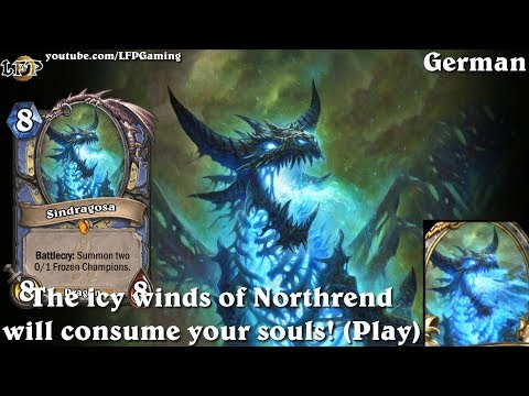 Hearthstone: Sindragosa card sounds in 14 languages -Knights of the Frozen Throne -Legendary