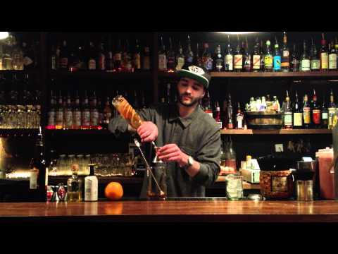 Tony Rowlands - Raisin tequila old fashioned.