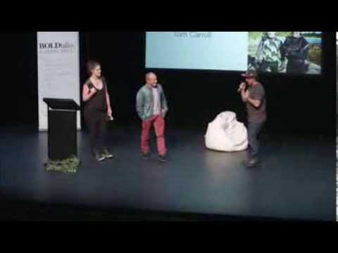 Storm Surfers - Ross Clarke Jones & Tom Carroll - BOLDtalks Australia 2013