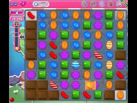 Candy Crush Level 63 - 1 Star 59k score - YouTube