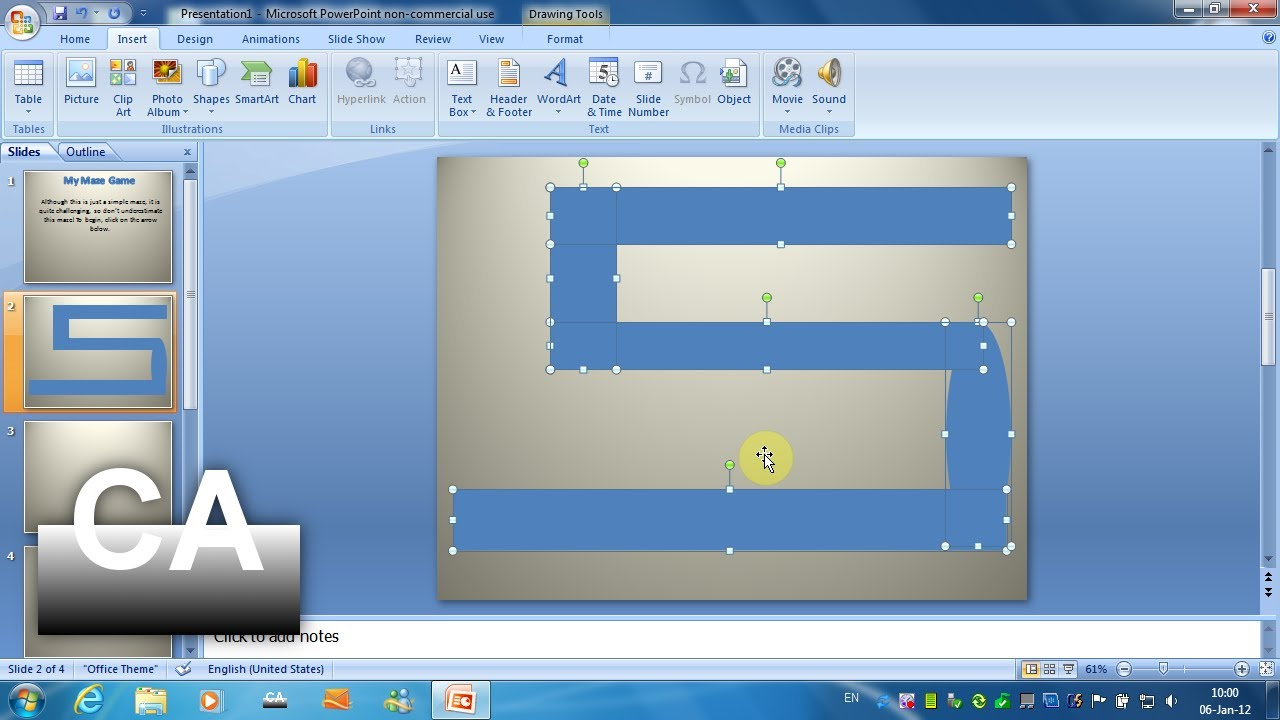 how to make a game show on powerpoint