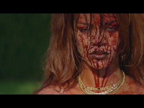 Rihanna's Violent Music Video Sparks Controversy Among Feminists