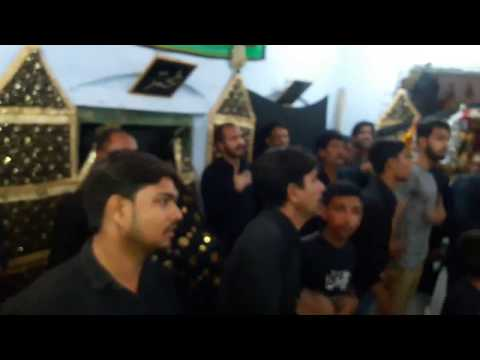 Maurawan azadari 9th moharram Nauha by Syed Zia Hussain Rizvi(fix Audio)