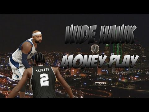 NBA2K14 PS4 WIDE HAWK MID RANGE MONEY PLAY DALLAS MAVERICKS