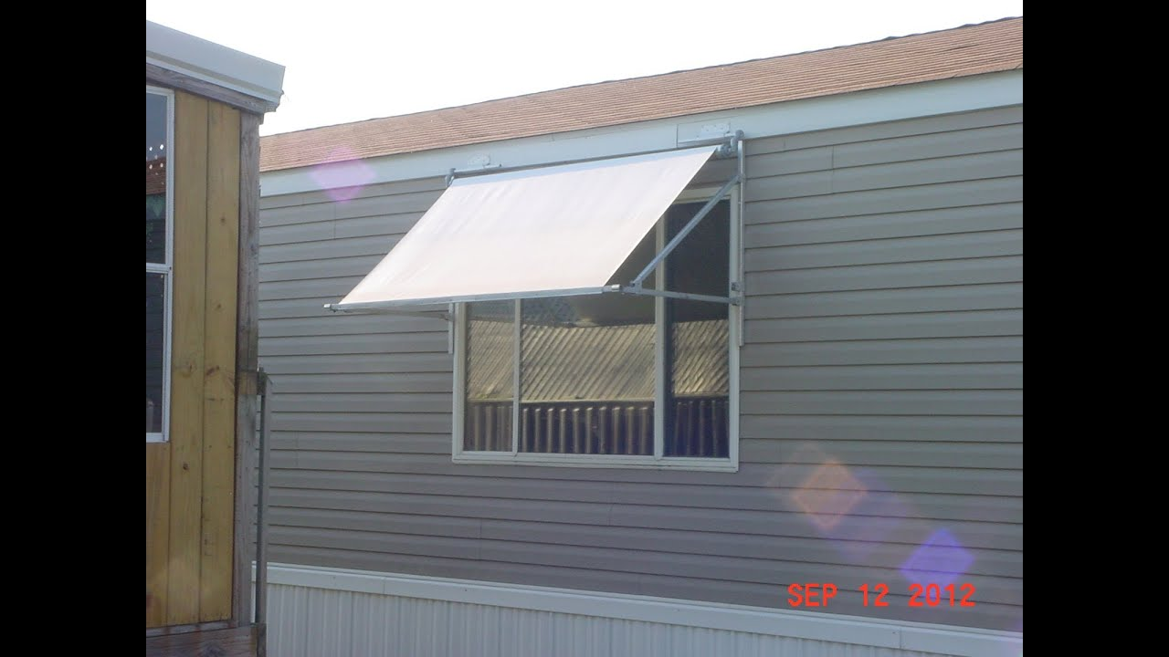 Awning Construction For Window Youtube