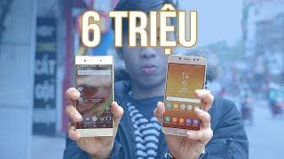 Xperia XA1 Plus vs Samsung Galaxy J7 Pro: Giá trị của Sony