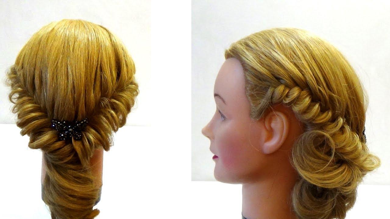Плетение на волосах своими руками фото 865