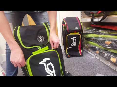 Kookaburra Pro D7 Junior Duffle Bag (Black/Lime)