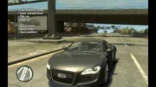 Grand Theft Auto IV 2007 Audi R8 4.2 FSI Quattro