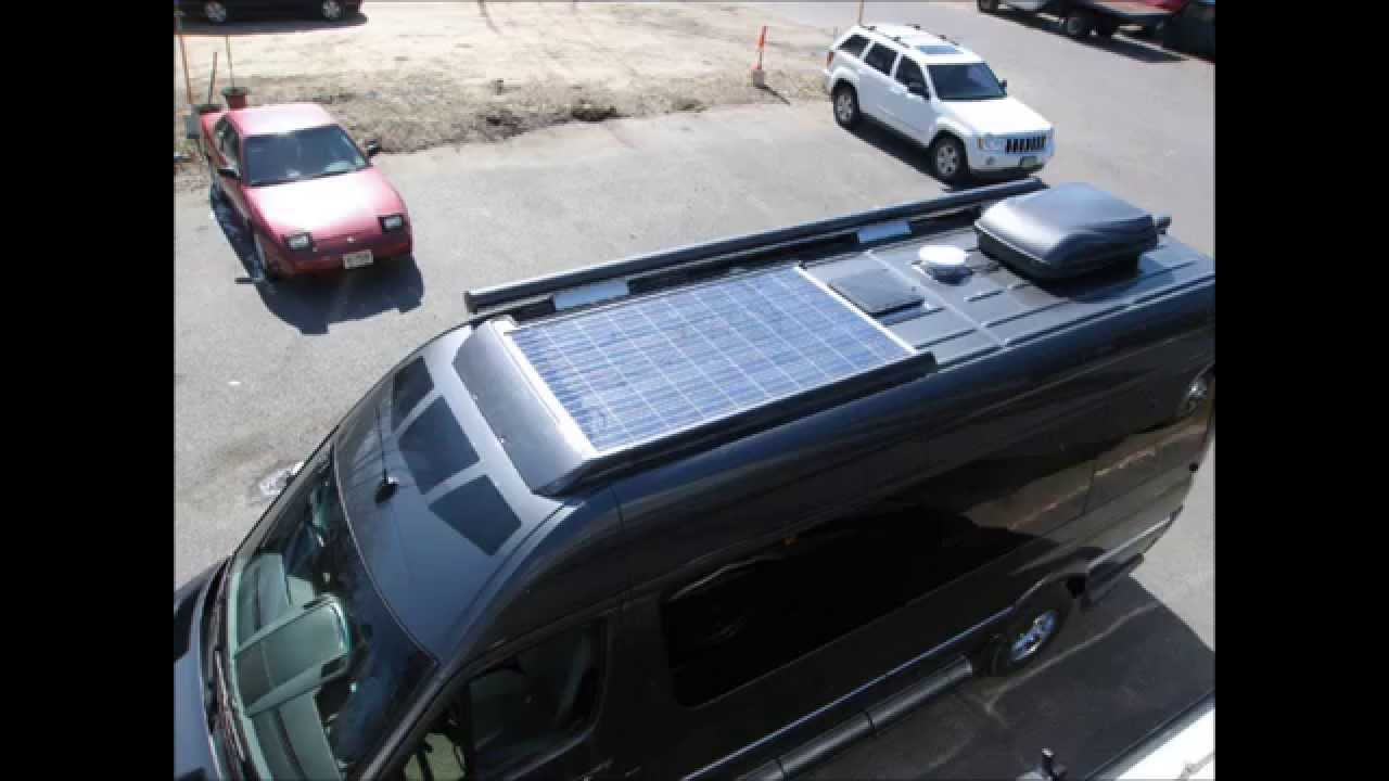 Amazing Solar Powered Rv On The 2014 Mercedes Sprinter