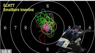 Scatt - Smallbore Rifle 10 shots kneeling position view on youtube.com tube online.