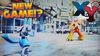 Pokémon X And Y Pokkén Fighters Pokémon Fighting Game