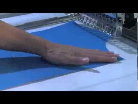 Técnicas de bordado a máquina