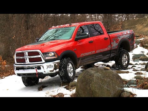 2014 Ram Power Wagon introduced at the New York Auto Show