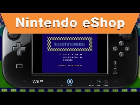 Nintendo eShop - Excitebike Wii U Virtual Console Trailer