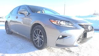 2018 Lexus ES250 (ASV60). Start Up, Engine, and In Depth Tour.. MegaRetr