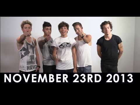 1D DAY ANNOUNCEMENT