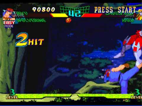Gameplay Da Tardina #1  Marvel Vs Capcom
