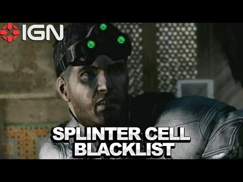 First Splinter Cell: Blacklist Gameplay - Microsoft E3 2012 Press Conference