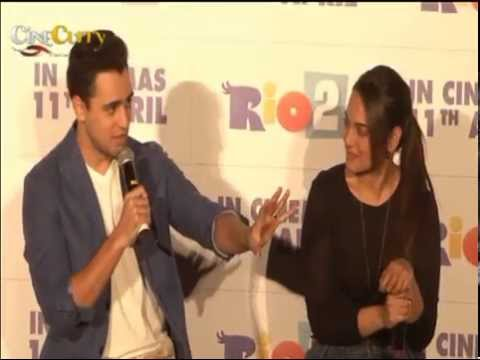Movie Rio 2 Trailer Launch│Sonakshi Sinha, Imran Khan
