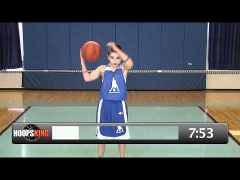 Ball Handling Basketball Training  for beginners with Jason Otter