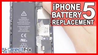 iPhone 5 pili nasıl değiştirilir?