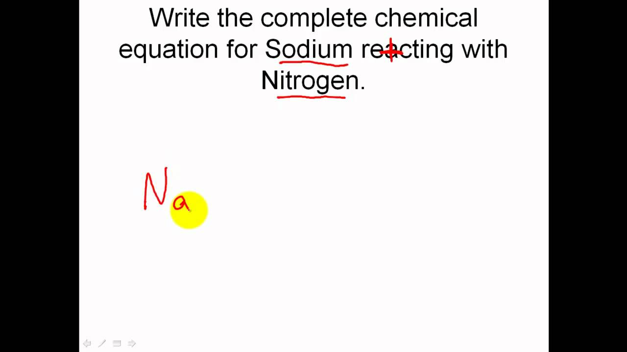 chemical reaction and equations Miracosta college introductory chemistry laboratory experiment 8 chemical reactions and equations experimental task carry out a number of chemical reactions, predict the products of each reaction based on the.