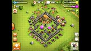 Clash Of Clans Town Hall Level 5 Best Defense Strategy