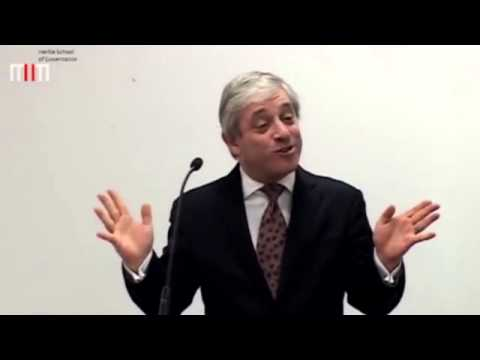 John Bercow does impressions of colleagues