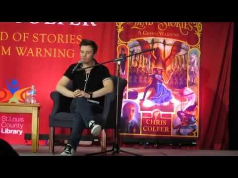 Chris Colfer Q&A || TLOS3 Book Tour || 7-14-14 St. Louis County Library
