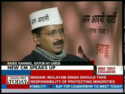 New CM Arvind Kejriwal in an exclusive heart-to-heart