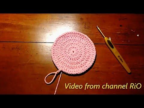 [Crochet] Hướng dẫn tăng kích cỡ vòng tròn trong móc len