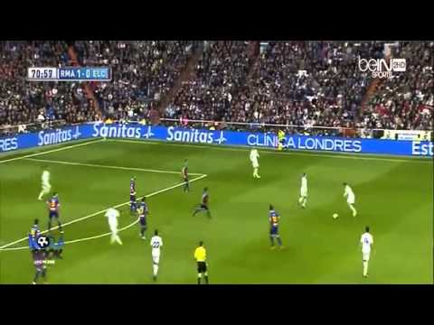 Real Madrid vs Elche 3-0  Highlights 22-2-2014