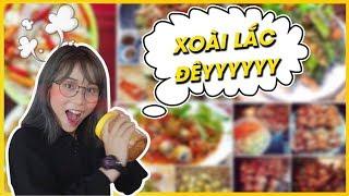 Thử Thách 76k mua sạch đồ ăn ở Phố ăn vặt SG || Food Challenge #1