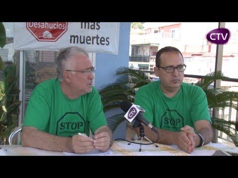ENTREVISTA ALS PORTAVEUS DE LA PLATAFORMA AFECTATS PER LES HIPOTEQUES