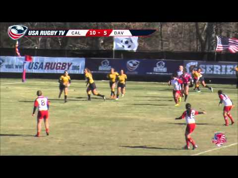 2013 USA Rugby College 7s National Championship: Cal vs Davenport