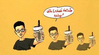Lyrics || Làm một chiếc trà sữa không? - NamKun