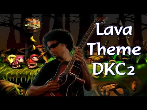 Lava, Tema Instrumental da fase Hot-Head Hop, DKC2