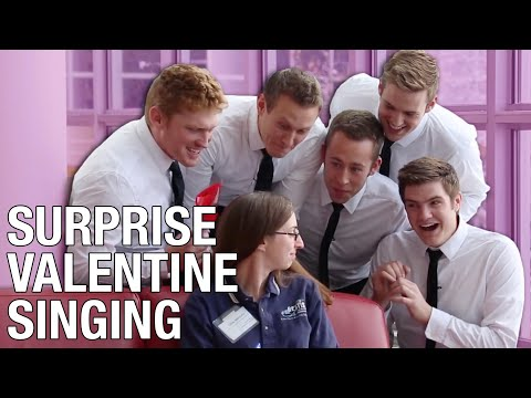 Stuart Edge Has An Awesome Valentine's Day Prank..
