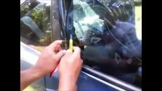 Polarizar los vidrios del coche