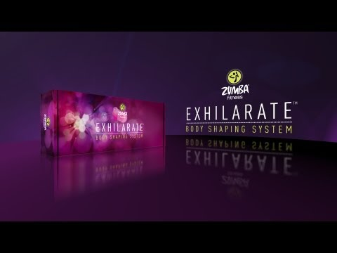 Zumba® Exhilarate Body Shaping System -- 4 DVD Set Plus Bonus (Extended)