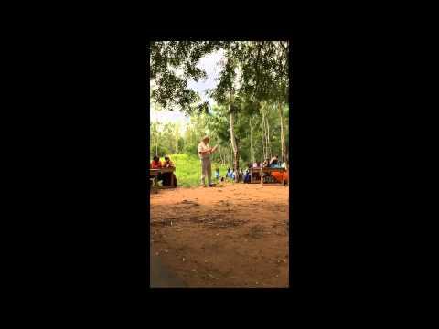 Opening medische hulppost Pangani, Kenia