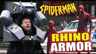 NEW RHINO ARMOR SUIT The Amazing Spider-Man 2 Movie