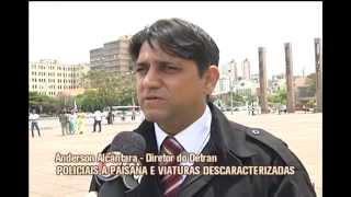 Pol�cia civil far� blitz de lei seca descaracterizada