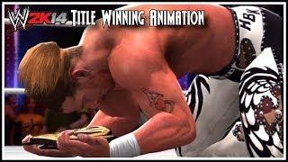 WWE 2K14 Shawn Michaels Title Winning Animation!