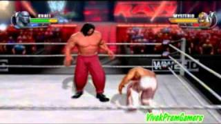 WWE All Stars The Great Khali CAW With Formula + Gameplay