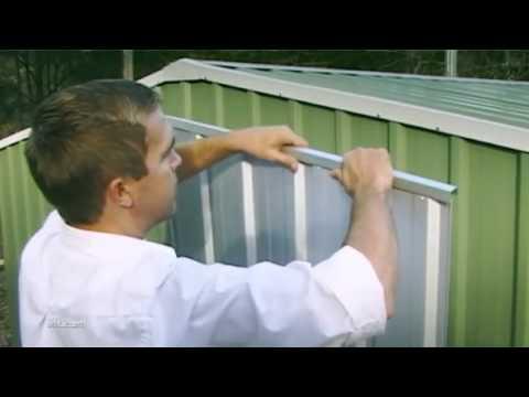 abri de jardin metal absco workshop