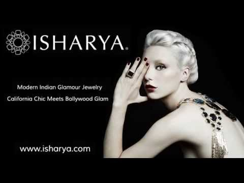 ISHARYA Jewelry Ad at Cannes Film Festival 2014