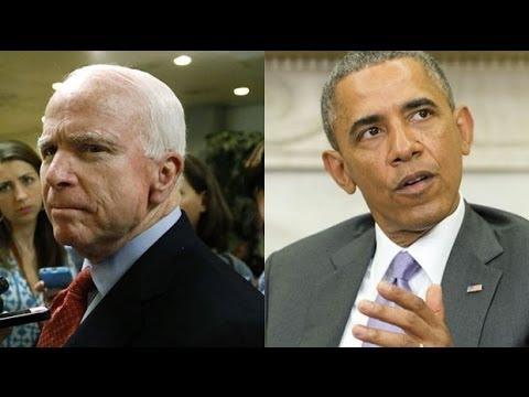 Iraq crisis: Obama and McCain clash over handling of Iraq