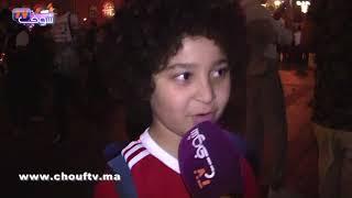 أصغر مشجع مغربي يُساند المنتخب بروسيا يتحدث بالانجليزية..المغرب غادي يربح البرتغال | خارج البلاطو